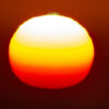 15 May 2017 Four Colors: orange, yellow, withe and Green Flash